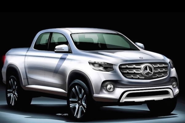 Mercedes benz bakkie who cares there is still the unimog for Mercedes benz pickup