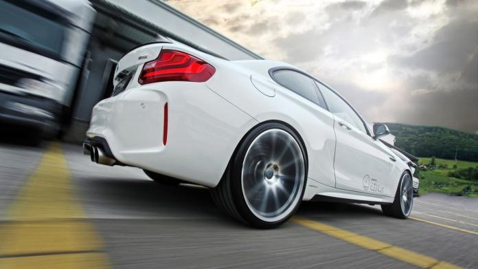 Dähler shoves BMW M4's S55 engine into M2 Coupe, Tunes It To